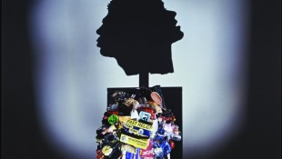 Tim Noble & Sue Webster, Trash Head, 1999