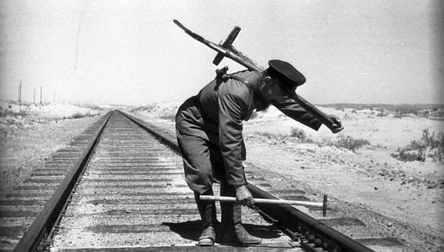 The Railway Workers, archival photograph