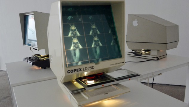 microfiche installation 1 DG