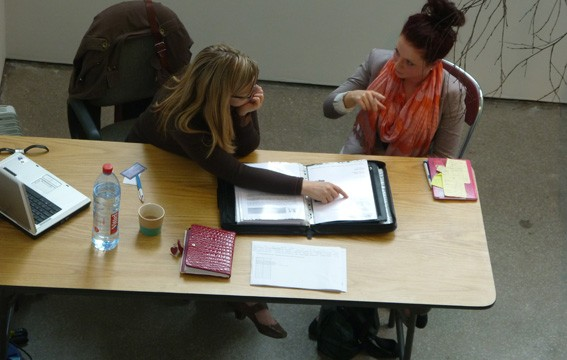 Portfolio review sessions at Castlefield Gallery