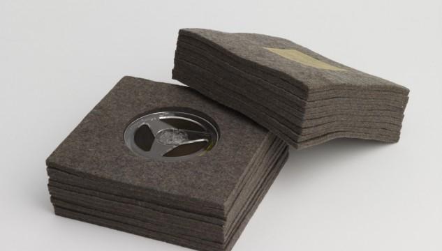 Joseph Beuys, Ja Ja Ja Nee Nee Nee, Felt and magnetic tape,1969