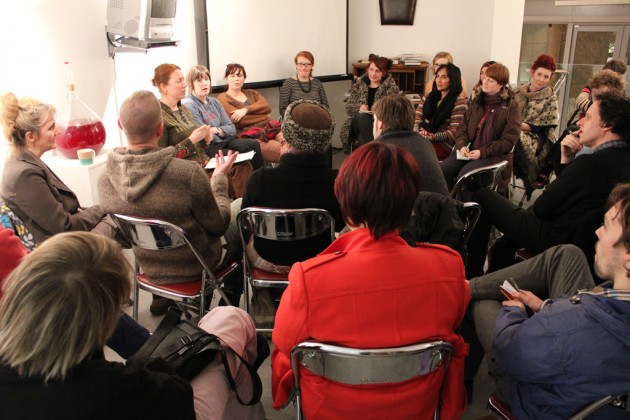 Participants at January CG Associates session