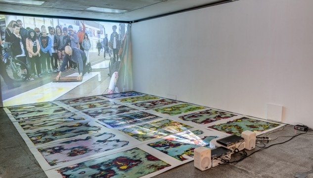 Corrupted Images (CMYK) and Publishing, Market St, 2012. Image: Joby Catto