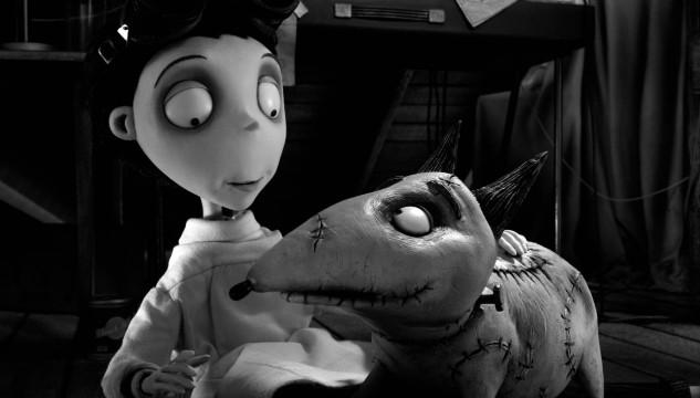 Tim Burton's Frankenweenie. Courtesy Mackinnon & Saunders