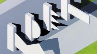 Kevin J Pocock, Brutal Facade, Acrylic on canvas