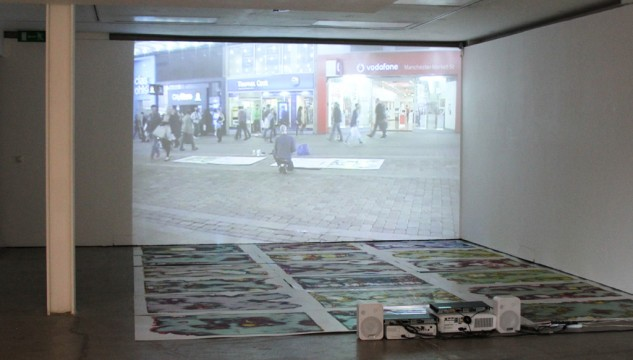 LaunchPad: Maurice Carlin. Corrupted Images. Image: Charlotte Horn, 2013