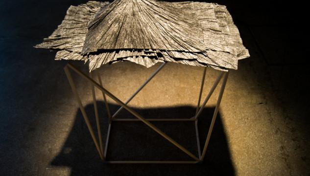 Dave Evans, Untitled Paper Mountain, 2012. Photo: Warren Fournier, 2013