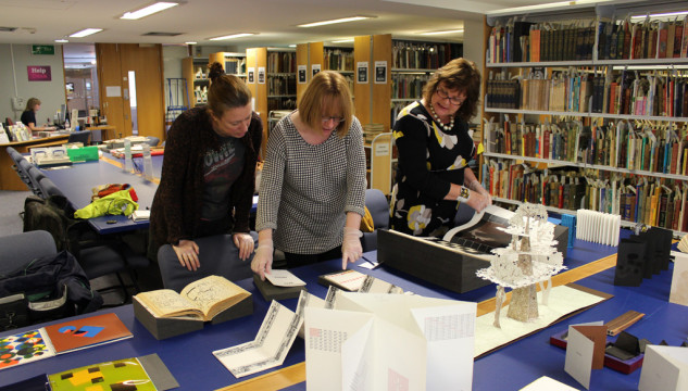 CG Associates visit to MMU Special Collections
