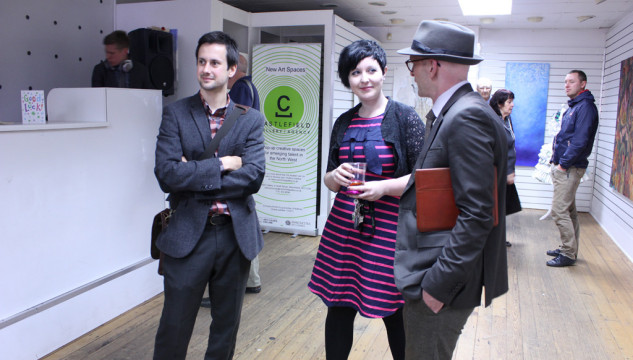New Art Spaces: Leigh. Launch event