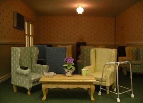 The Residents' Room by Claire Tindale