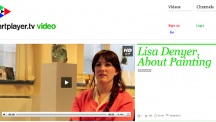 Lisa Denyer on ArtPlayer.tv
