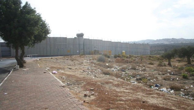 Image: Gary Bratchford, West Bank Wall, 2013
