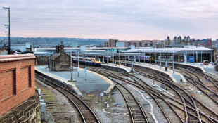 Panorama of Sheffield Station; photo by St BC -