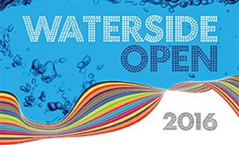 Waterside Open Banner