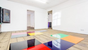 Installation view of No More Disco by Holly Rowan Hesson at &Model Gallery, Leeds