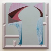 Ben Cove, Freeloader, 2014, acrylic on panel, 40x40cm