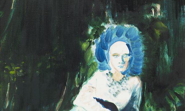 Lindsey Bull, Blue hair(detail), 2017