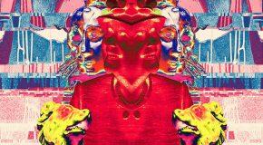 Detail of glitch image by Daniel Wiltshire