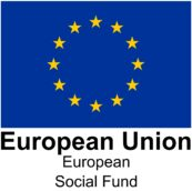 EU logo with words European Social Fund
