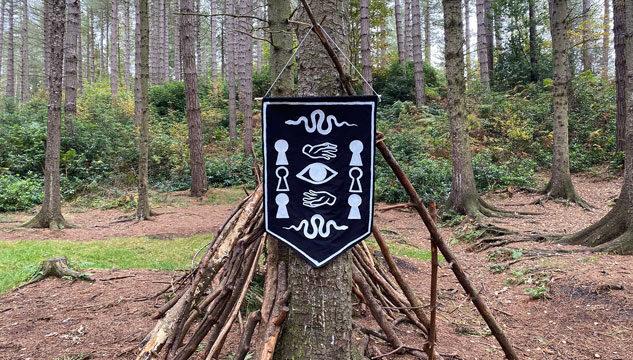 Image of sigil on tree